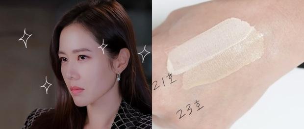 Thì ra bí kíp đánh nền mỏng nhẹ lại gọn mặt của Son Ye Jin lại chỉ đơn giản là mix 2 màu foundation lại với nhau - Ảnh 2.