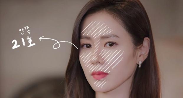 Thì ra bí kíp đánh nền mỏng nhẹ lại gọn mặt của Son Ye Jin lại chỉ đơn giản là mix 2 màu foundation lại với nhau - Ảnh 3.