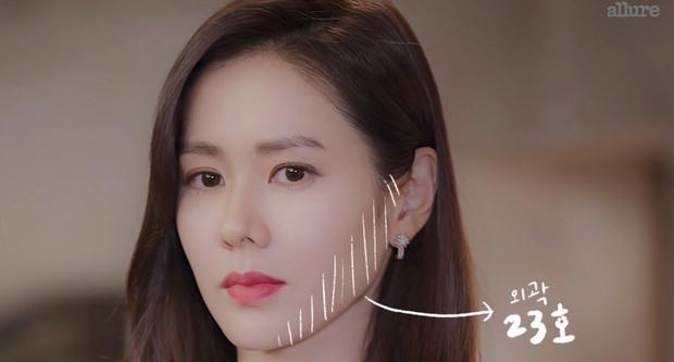 Thì ra bí kíp đánh nền mỏng nhẹ lại gọn mặt của Son Ye Jin lại chỉ đơn giản là mix 2 màu foundation lại với nhau - Ảnh 4.