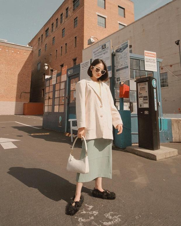 12 cách diện váy đẹp xinh nức nở, khiến chị em không thể cưỡng lại niềm mong mỏi được xúng xính ngay để du Xuân - Ảnh 12.