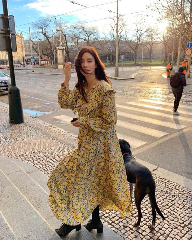 12 cách diện váy đẹp xinh nức nở, khiến chị em không thể cưỡng lại niềm mong mỏi được xúng xính ngay để du Xuân - Ảnh 6.