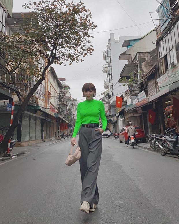 """Sao Việt """"đọ style"""" diện đồ Tết: Ai cũng kín đáo, có Yến Trang, Quỳnh Anh Shyn """"đánh bạo"""" diện váy ngắn - Ảnh 6."""