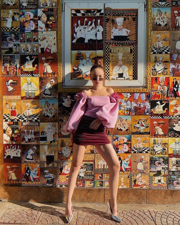 """Sao Việt """"đọ style"""" diện đồ Tết: Ai cũng kín đáo, có Yến Trang, Quỳnh Anh Shyn """"đánh bạo"""" diện váy ngắn - Ảnh 12."""
