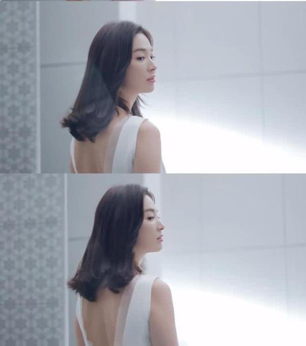Hậu ly hôn Song Joong Ki, Song Hye Kyo hồi xuân, đẹp xuất sắc tới từng milimet trong clip quảng cáo - Ảnh 5.