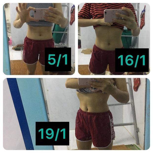 Từ 57kg xuống 48kg, cô gái Đà Nẵng chia sẻ bí quyết giảm cân cấp tốc chỉ sau 2 tuần - Ảnh 3.