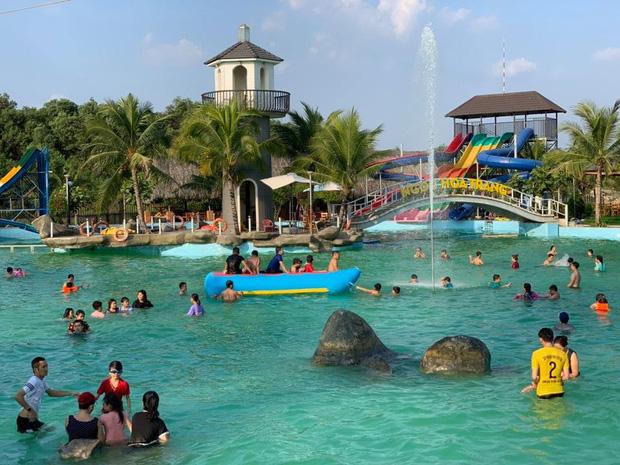 Hai cháu bé tử vong thương tâm khi bơi ở khu du lịch sinh thái Ngọc Hoa Trang ngày mùng 5 Tết - Ảnh 1.