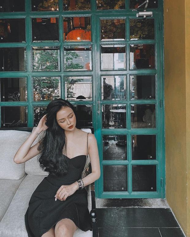 Street style Tết của hội hot girl sành mặc Instagram: Dù diện áo dài hay váy áo kiểu cách cũng đều sang chảnh, xinh tươi hết nút - Ảnh 10.