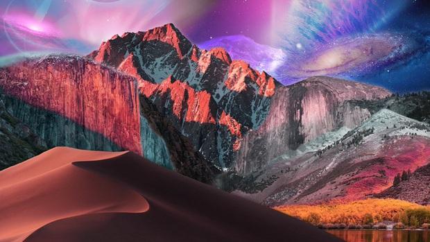 Đầu năm trang hoàng hình nền siêu đẹp: Ghép từ mọi mẫu của macOS thành một tuyệt phẩm đứng hình 5 giây - Ảnh 2.