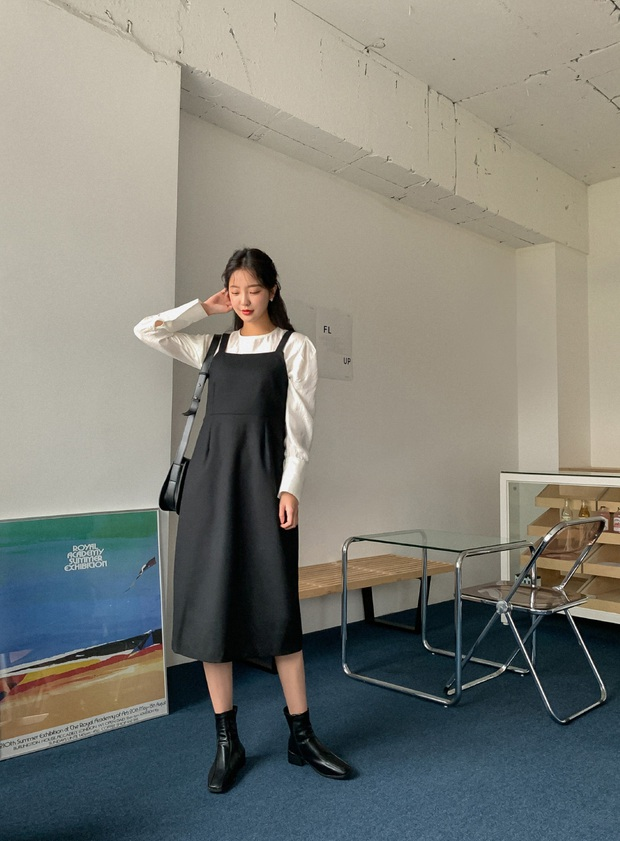 Combo váy áo được gái xinh xứ Hàn diện nhiệt tình nhất đợt này: Hack tuổi siêu ổn và thừa điểm thanh lịch để diện đến công sở  - Ảnh 2.