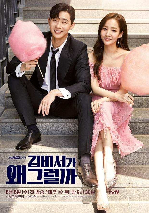 Cặp đôi Thư Kí Kim hẹn nhau trở lại màn ảnh nhỏ: Park Seo Joon lẫn Park Min Young đều cưa sừng về gặp mối tình đầu - Ảnh 1.