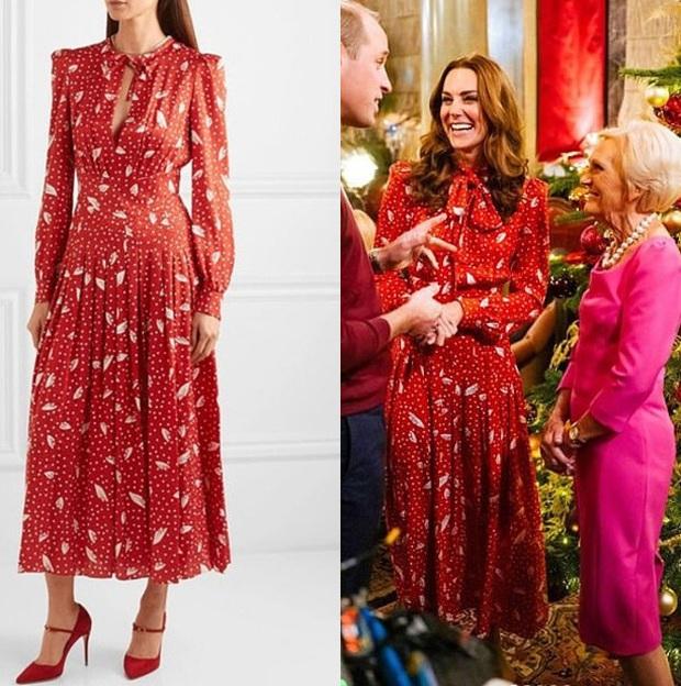 Công nương Kate Middleton thể hiện đẳng cấp thời trang khi sửa đồ tinh tế mà ít người nhận ra - Ảnh 1.