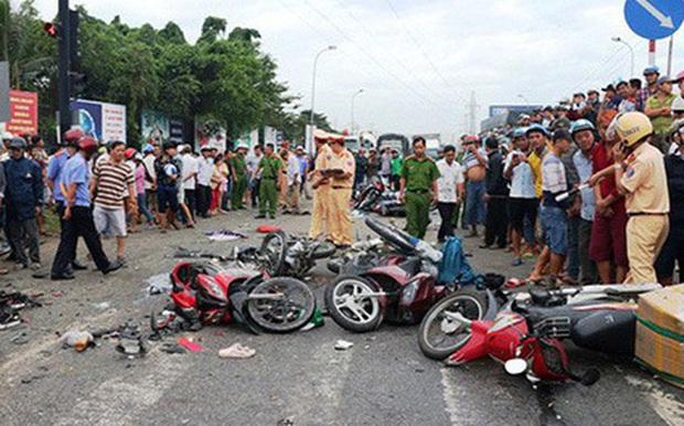 133 người ra đường không về do tai nạn giao thông 7 ngày nghỉ Tết - Ảnh 1.