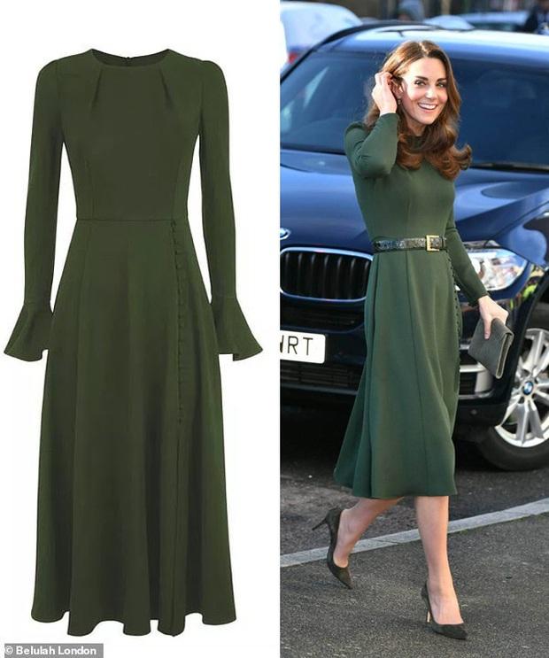 Công nương Kate Middleton thể hiện đẳng cấp thời trang khi sửa đồ tinh tế mà ít người nhận ra - Ảnh 4.
