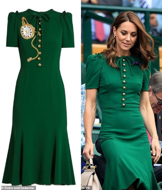 Công nương Kate Middleton thể hiện đẳng cấp thời trang khi sửa đồ tinh tế mà ít người nhận ra - Ảnh 7.