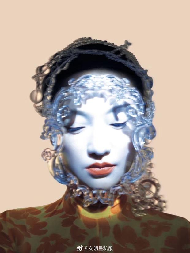 Loạt mỹ nhân châu Á thi nhau diện mặt nạ dị: Châu Tấn gây ám ảnh, Nghê Ni và người tình tin đồn G-Dragon thần thái xuất chúng - Ảnh 1.