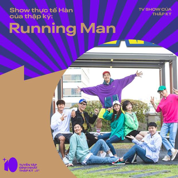 Hai phiên bản Running Man thắng áp đảo trong cuộc bình chọn TV Show của thập kỷ - Ảnh 3.