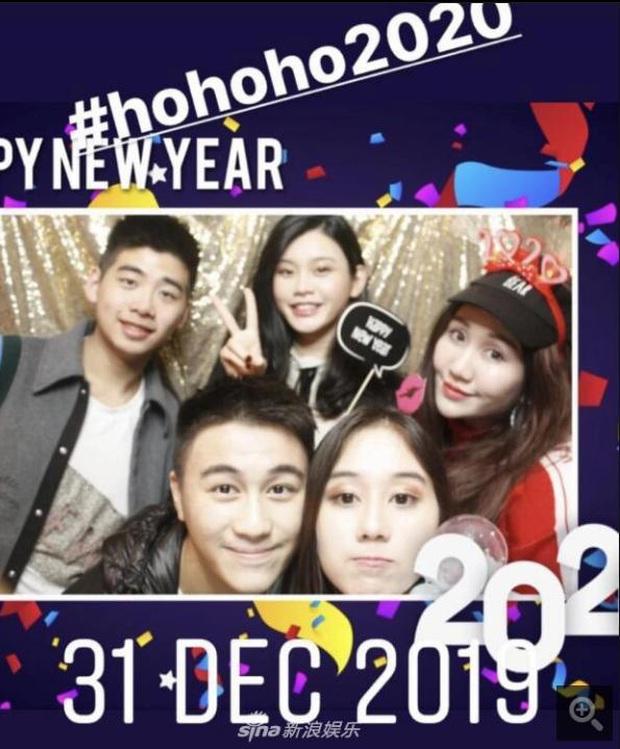 """Nhìn vào bức ảnh mừng năm mới của nhà Bà Tư mới biết địa vị của Ming Xi trong gia tộc """"trùm sòng bạc"""" như thế nào - Ảnh 1."""