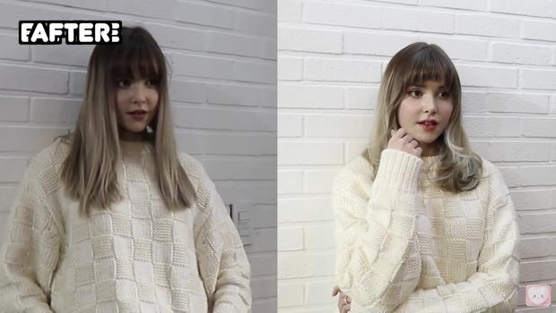 4 pha làm tóc tại Hàn của các vlogger: Dù cắt tóc hay chỉ làm xoăn cũng đều đẹp xịn, không hổ danh thiên đường làm đẹp châu Á - Ảnh 5.