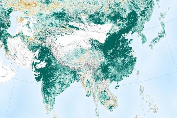 Trái Đất nhìn từ không gian qua những bức ảnh ấn tượng - Ảnh 1.