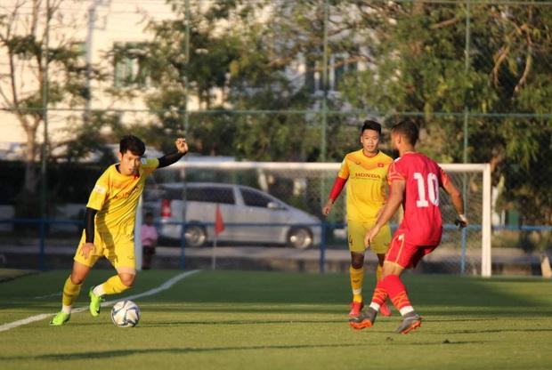 U23 Việt Nam nhận thất bại đầu tiên trong năm 2020 - Ảnh 5.