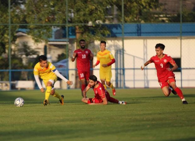 U23 Việt Nam nhận thất bại đầu tiên trong năm 2020 - Ảnh 4.