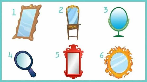 Chọn một chiếc gương và nó sẽ tiết lộ những sự thật về tính cách, sở thích của bạn, thử xem đúng không nhé! - Ảnh 1.