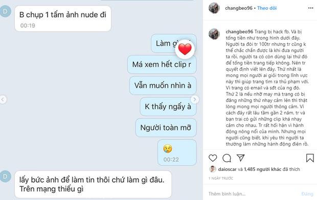 Người yêu Trọng Đại bị hack facebook: Thủ phạm tống tiền 100 triệu, dọa đăng ảnh nóng và clip nhạy cảm với bạn trai - Ảnh 1.