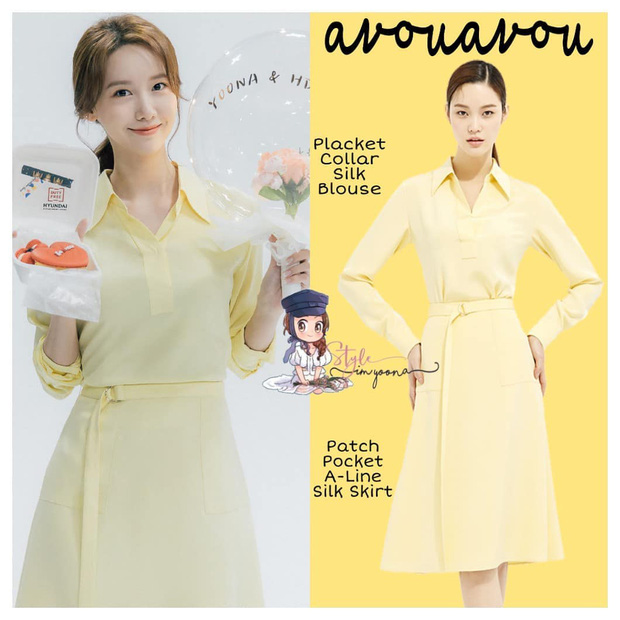 Chung 1 chiếc váy: Song Hye Kyo bạo gan cắt ngắn cho trẻ trung, Yoona lại ghi điểm ngọt ngào tuyệt đối - Ảnh 3.