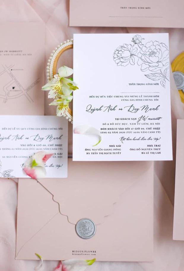 Góp vui nhân đám cưới Văn Đức, Duy Mạnh lỡ tiết lộ khách mời đặc biệt cho hôn lễ với Quỳnh Anh: Nghệ sĩ Vbiz cực thân! - Ảnh 7.