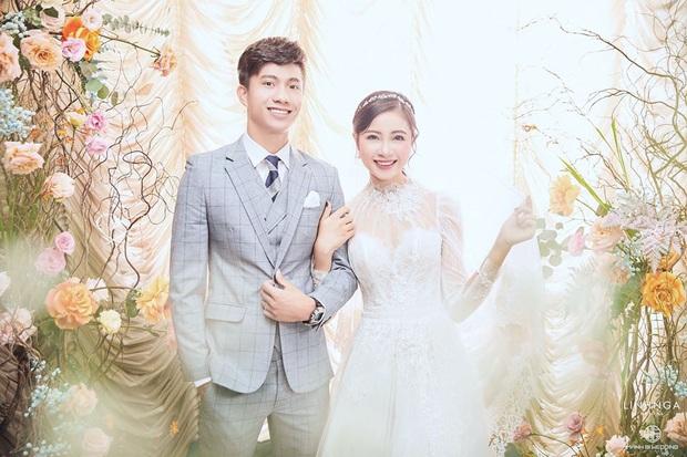 Váy cưới của cô dâu Nhật Linh: 2 bộ đã sương sương 1 tỷ VNĐ, riêng bộ váy chính bồng xòe đúng chuẩn váy công chúa - Ảnh 8.