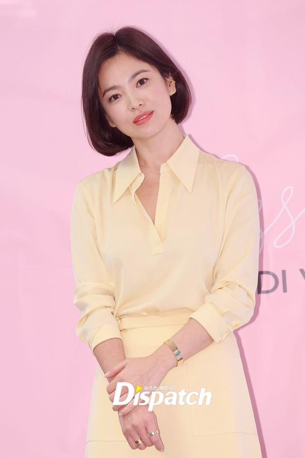 Chung 1 chiếc váy: Song Hye Kyo bạo gan cắt ngắn cho trẻ trung, Yoona lại ghi điểm ngọt ngào tuyệt đối - Ảnh 4.