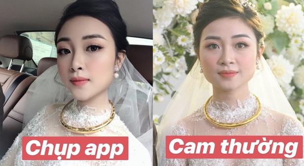 Nhan sắc vợ Văn Đức khi không dùngg app chỉnh ảnh: Liệu có cân được camera thường? - Ảnh 1.