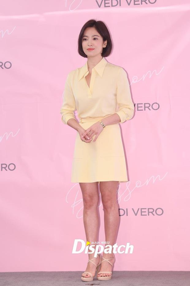 Chung 1 chiếc váy: Song Hye Kyo bạo gan cắt ngắn cho trẻ trung, Yoona lại ghi điểm ngọt ngào tuyệt đối - Ảnh 5.