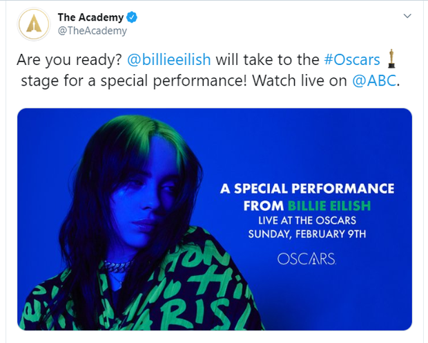 Vừa viết nên lịch sử tại Grammy, Billie Eilish chinh thức có màn trình diễn bất ngờ tại Oscar: thời tới cản không kịp? - Ảnh 1.