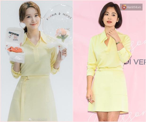 Chung 1 chiếc váy: Song Hye Kyo bạo gan cắt ngắn cho trẻ trung, Yoona lại ghi điểm ngọt ngào tuyệt đối - Ảnh 7.