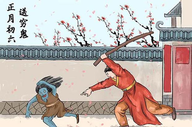 Mùng 6 Tết của người Trung Quốc: Là ngày của Ngựa và được chọn để cúng tiễn Thần Nghèo, một vị thần mà ai ai cũng sợ - Ảnh 2.
