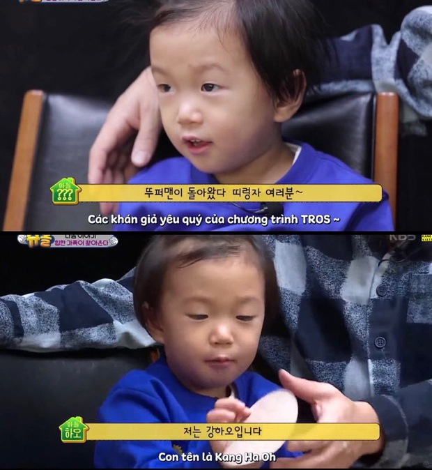 Con trai Kang Gary trên show thực tế: Không những thông minh, đáng yêu mà còn vô cùng lễ phép - Ảnh 1.