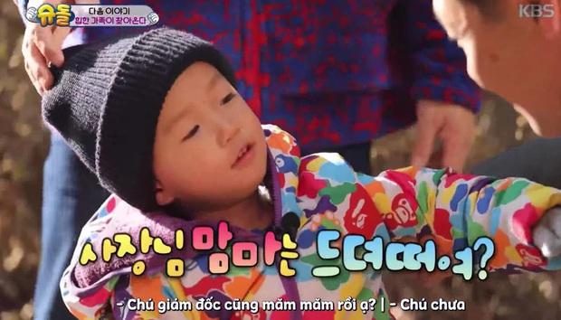 Con trai Kang Gary trên show thực tế: Không những thông minh, đáng yêu mà còn vô cùng lễ phép - Ảnh 5.
