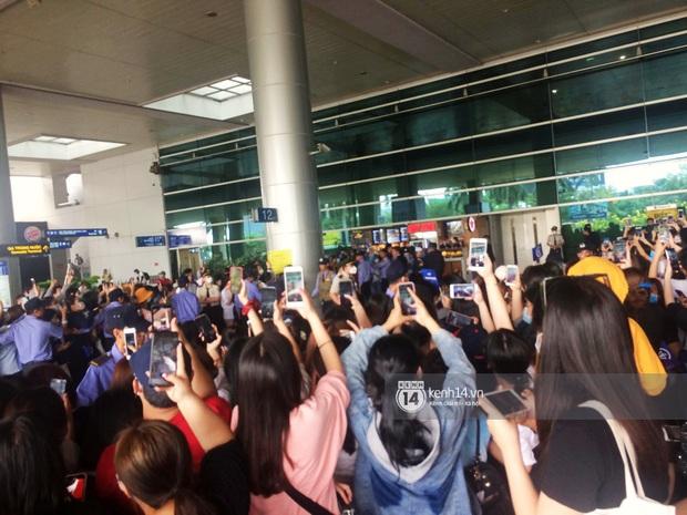 WINNER đến Việt Nam giữa đại dịch cúm Corona: Bịt kỹ bí thở, đặt chân xuống sân bay Sài Gòn vẫn kín mít vì fan quá đông - Ảnh 8.