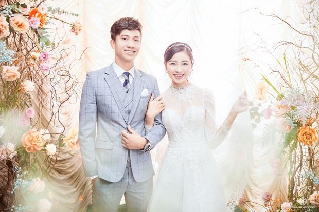 Váy cưới của cô dâu Nhật Linh: 3 bộ sương sương 1 tỷ VNĐ, riêng bộ váy chính bồng xòe đúng chuẩn váy công chúa - Ảnh 10.
