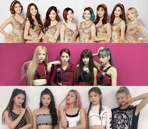 """Sân khấu của các girlgroup Kpop trên sóng truyền hình Mỹ: BLACKPINK và ITZY gây thất vọng, SNSD chứng tỏ đẳng cấp khi """"chặt đẹp"""" đàn em - Ảnh 1."""
