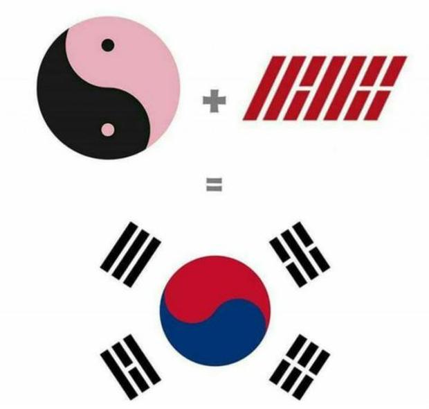 Logo trong album mới của iKON giống 90% logo của trường Đại học HUFLIT TP. HCM, fan thắc mắc YG tuyển designer xuất thân từ Việt Nam hay gì? - Ảnh 7.