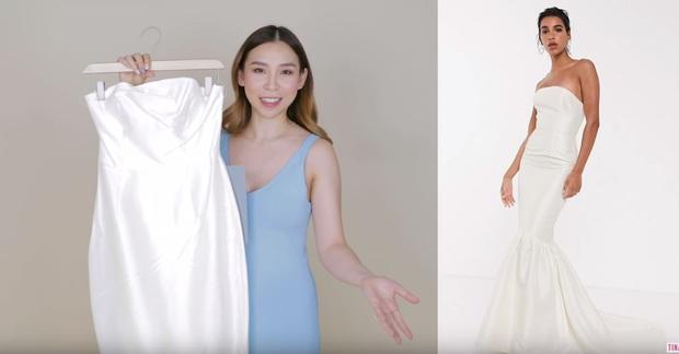 Đặt mua 3 chiếc váy cưới giá rẻ của ASOS, cô nàng này khá thất vọng với chiếc váy đắt nhất  - Ảnh 2.