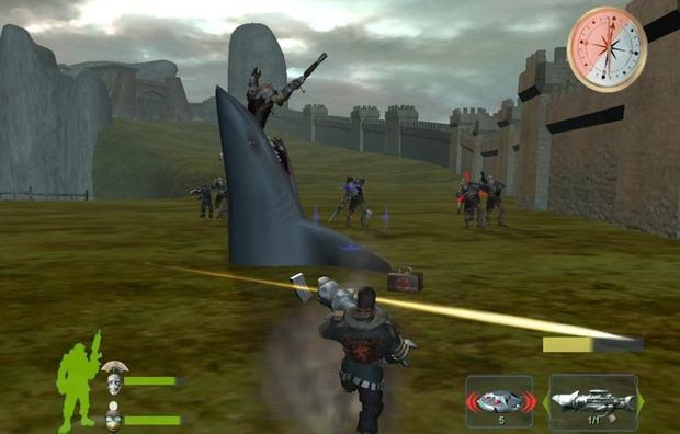 Trời ơi tin được không, đây chính là những loại vũ khí lạ lùng nhất chỉ có trong các trò chơi điện tử - Ảnh 2.