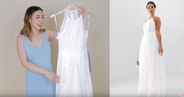 Đặt mua 3 chiếc váy cưới giá rẻ của ASOS, cô nàng này khá thất vọng với chiếc váy đắt nhất  - Ảnh 4.