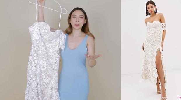 Đặt mua 3 chiếc váy cưới giá rẻ của ASOS, cô nàng này khá thất vọng với chiếc váy đắt nhất  - Ảnh 6.