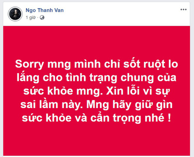 Sở TT&TT sẽ làm việc với Cát Phượng, Ngô Thanh Vân và nhiều sao Việt khi đưa tin sai về đại dịch Corona - Ảnh 4.