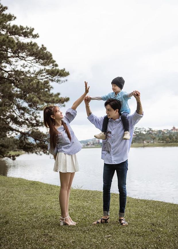 Thu Thủy hạnh phúc khoe ảnh đón tuổi mới bên gia đình, nhưng hành động chồng trẻ dành cho con trai mới là tâm điểm! - Ảnh 4.