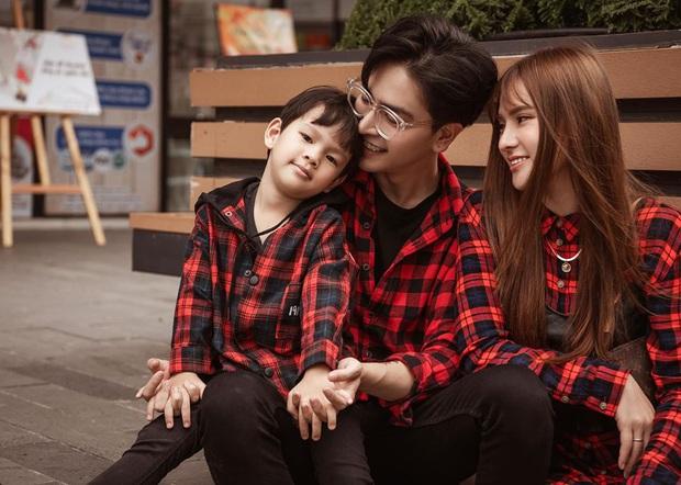 Thu Thủy hạnh phúc khoe ảnh đón tuổi mới bên gia đình, nhưng hành động chồng trẻ dành cho con trai mới là tâm điểm! - Ảnh 3.
