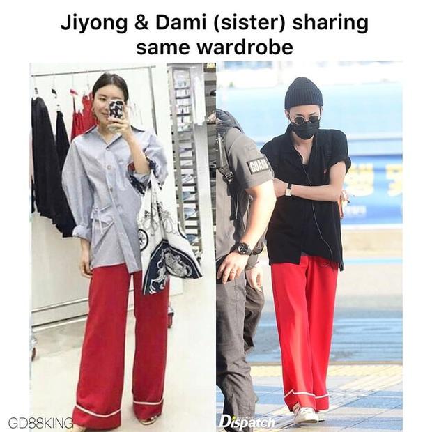 Quá nhiều pha đụng hàng giữa G-Dragon và chị gái, vừa chất lại dễ thương hết phần thiên hạ - Ảnh 1.